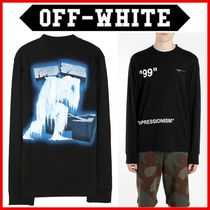 Off-White_19SS 正規品 ロングスリーブ☆OMAB021R191850011088