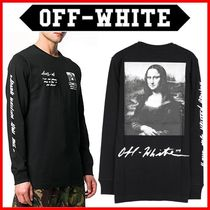Off-White_19SS 正規品 モナリザ ロンT☆OMAB001S191850051020