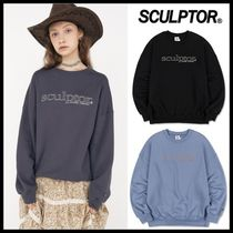 ☆SCULPTOR☆  スウェット Retro Outline Sweatshirt
