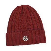 MONCLER モンクレール 帽子 RED 440 9963300 A9146
