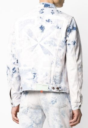 Off-White ジャケットその他 OFF WHITE ARROW SLIM JEANS JACKET(3)