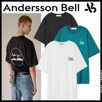★ANDERSSON BELL★ 兼用 ANNIVERSARY PALMTREE PRINT T-SHIRT