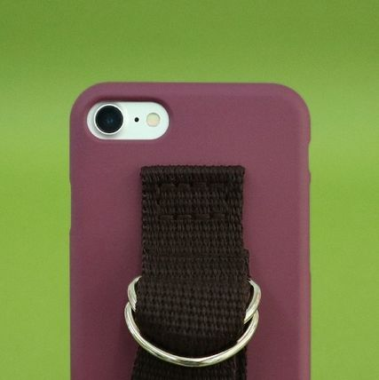 SECOND UNIQUE NAME スマホケース・テックアクセサリー 【日本未販売】SUN CASE CRUSH BERRY BROWN/ IPHONE CASE(3)