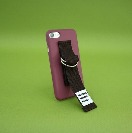 SECOND UNIQUE NAME スマホケース・テックアクセサリー 【日本未販売】SUN CASE CRUSH BERRY BROWN/ IPHONE CASE(5)