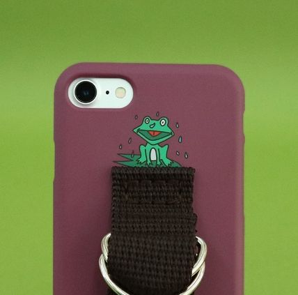 SECOND UNIQUE NAME スマホケース・テックアクセサリー 【日本未販売】SUN CASE CRUSH BERRY BROWN/ IPHONE CASE(7)