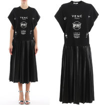 G606 RECONSTRUCTED T-SHIRT DRESS