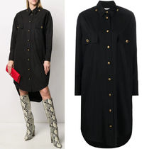G609 COTTON SHIRT DRESS