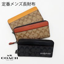 大人気 COACH★メンズ ACCORDION WALLET 長財布