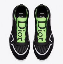 DIOR★technical knit sneakers (black+neon green)関税込EMS