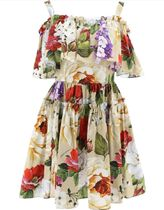 DOLCE & GABBANA  - floral print dress
