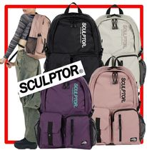 関税込 日本未入荷☆SCULPTOR☆Double Pouch Nylon Backpack 4色