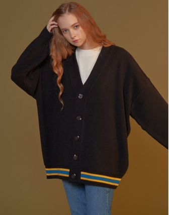 ★BLOND9★Three Lines Knit Cardigan/5カラー