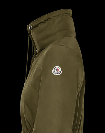 MONCLER アウターその他 累積売上総額第1位!【MONCLER 20春夏】OCRE_MILITARY GREEN(2)