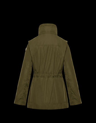 MONCLER アウターその他 累積売上総額第1位!【MONCLER 20春夏】OCRE_MILITARY GREEN(4)