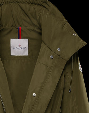MONCLER アウターその他 累積売上総額第1位!【MONCLER 20春夏】OCRE_MILITARY GREEN(5)