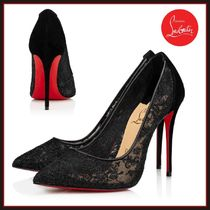 Christian Louboutin ★ Follies Lace ★ レース パンプス 100mm