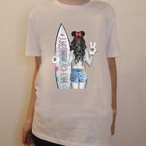 JAPAN LIMITEDモデル!!★NO COMMENT PARIS★ surf girl