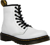 DR MARTENS キッズ JUNIOR 1460 LACE UP BOOTS(ホワイト)