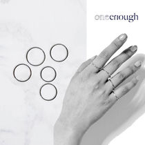 ★ONE ENOUGH★ SURGICAL STEEL Mikro FIVE RING SET リング