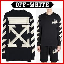 Off-White_20SS テープアローロングスリーブ長袖Tシャツ☆正規品