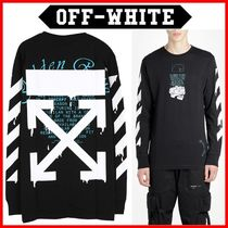 Off-White_20SS ドリッピングアロー長袖Tシャツ☆正規品