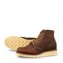 RED WING(レッドウィング) ショートブーツ・ブーティ [RED WING(レッドウイング)] ROUND TOE 3451 COPPER ROUGH_TOUGH