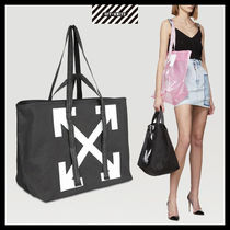 【OFFWHITE】BLACK ARROWS TOTE BAG/ブラック/20SS/トートバッグ