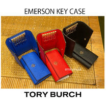 即発 TORY BURCH★EMERSON KEY CASE*6連キーケース
