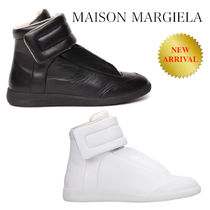 MAISON MARGIELA FUTURE HIGH TOP LEATHER SNEAKERS
