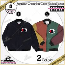 17AW /Supreme Champion Color Blocked Jacket チャンピオン JK