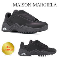 MAISON MARGIELA FUTURE LOW TOP NYLON SNEAKERS