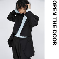 ●OPEN THE DOOR●韓国服●zipper cut single jacket (2color)