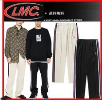 ★韓国の人気★【LMC】★LMC SIDE STRIPED JERSEY PANTS★2色★