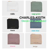 CHARLES&KEITH mini zip wallet card folder 6色