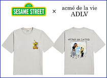 アクメドラビ★[SESAME STREET X ADLV] DRAWING T- SHIRT