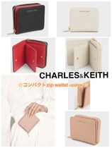 ☆新作☆CHARLES&KEITH small zip wallet 2つ折り財布