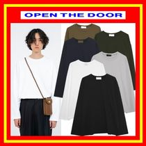 [OPEN THE DOOR]  cozy mood heavy T ◆全6色◆男女兼用◆追跡付