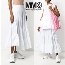 MM6 MAISON MARGIELA★PLEATED SKIRT フリルスカート★S52MA0084
