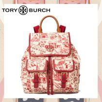 【TORY BURCH】Perry Nylon ナイロン プリント バックパック20SS