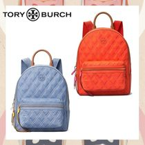 【TORY BURCH】Perry Nylon ミックスステッチ バックパック 20SS