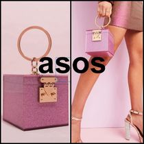 ASOS★パーティーバッグ★luxe vanity box clutch in glitter