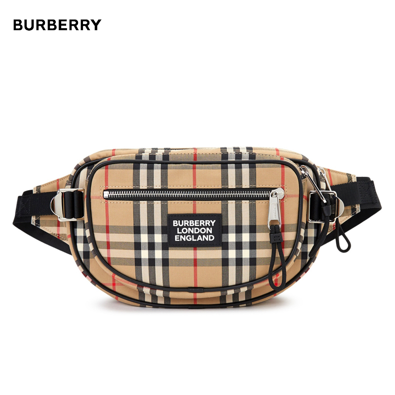 Burberry★チェックMD CANNON 8023034ベルトバッグ (Burberry/バッグ・カバンその他) 51608703