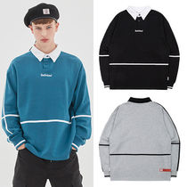 ★BAD IN BAD★韓国 トレーナー BINDING COLLAR SWEATSHIRT 3色