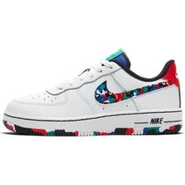 "子供用かわいい!Nike Force 1 ""White/Multicolor"" Preschool"