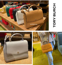 TORY BURCH★EMERSON STRUCTURED SATCHEL 2WAY クロスボディー