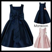 【Monsoon】CYNTHIA DUCHESS OCCASION DRESS バックリボン 2色