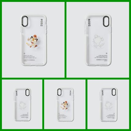Casetify スマホケース・テックアクセサリー [CASETIFY] Meowth 052 Pokedex Day Iphone X/XS Case