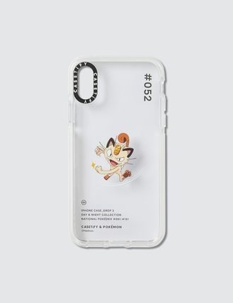 Casetify スマホケース・テックアクセサリー [CASETIFY] Meowth 052 Pokedex Day Iphone X/XS Case(2)