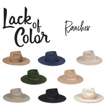 【Lack of Color】Rancher ランチャー ハット