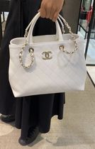 "★2020 S/S CHANEL★SERIAL SHOPPER"" SHOPPING TOTE CALFSKIN"